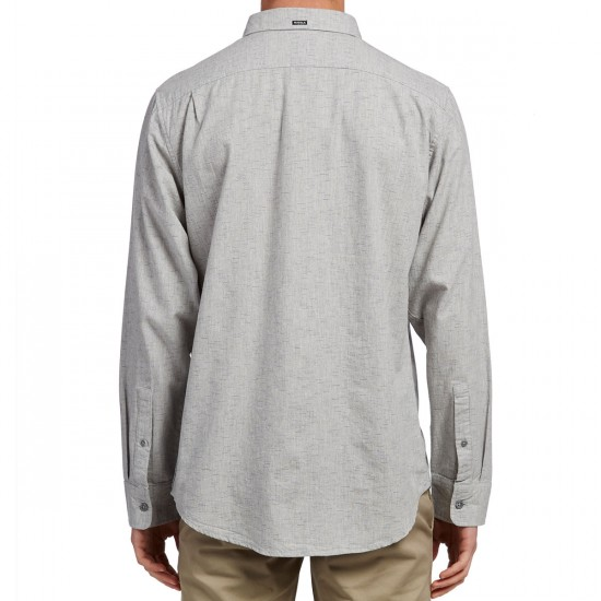 Vissla Playa Negra Long Sleeve Shirt - Grey Heather
