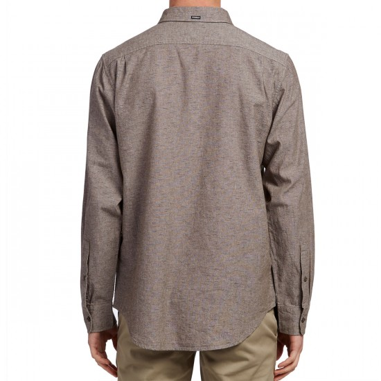 Vissla Playa Negra Long Sleeve Shirt - Java