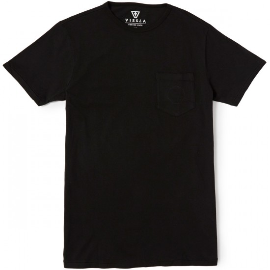 Vissla Covert Pocket T-Shirt - Phantom