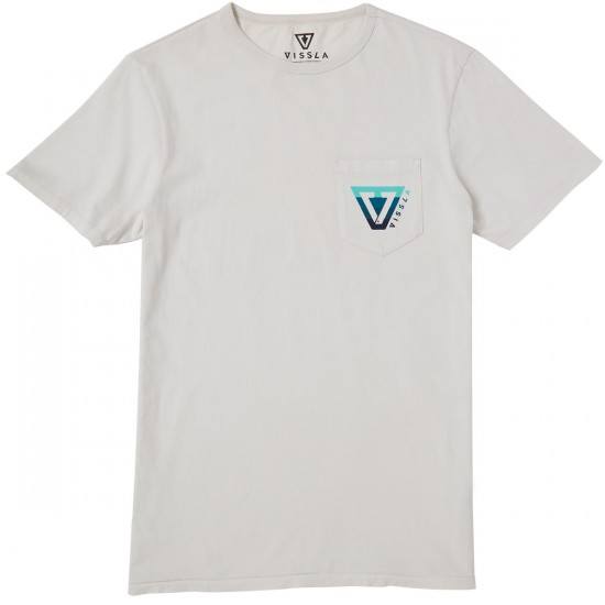 Vissla Established Bars T-Shirt - Bone