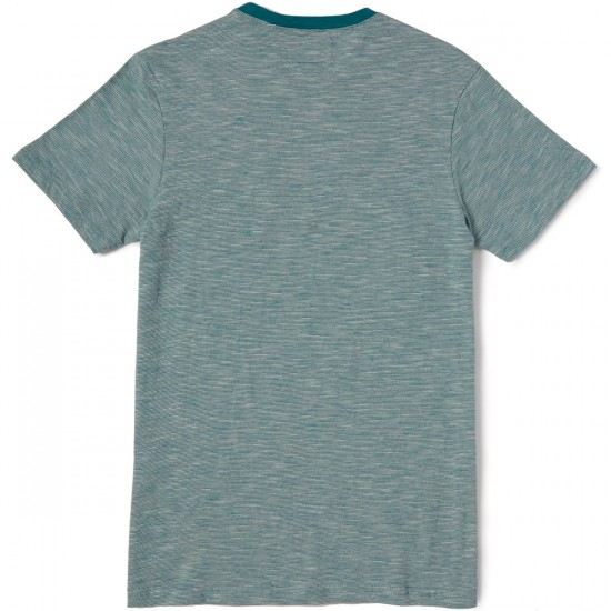 Vissla Soft Top Pocket T-Shirt - Teal