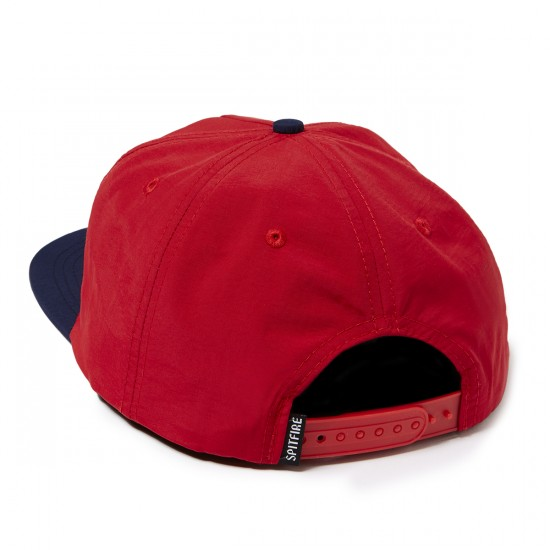 Spitfire Bighead Snapback Hat - Red