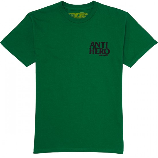 Anti-Hero Lil Blackhero T-Shirt - Kelly Green
