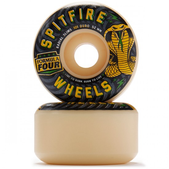 Spitfire Formula Four Radial Slims Speed Kills Reg Skateboard Wheels - 52mm 101D