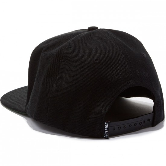Spitfire Bighead Hat - Black/White