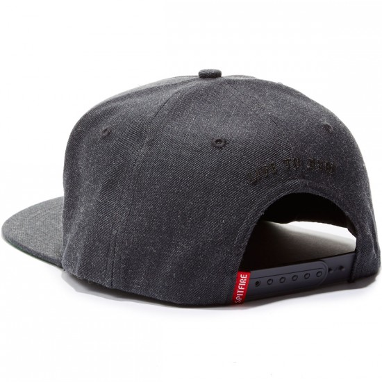 Spitfire Bighead Hat - Charcoal/Light Grey