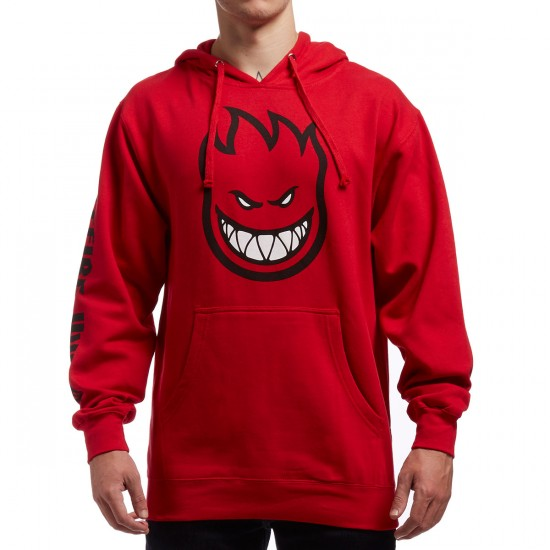Spitfire Bighead Fill Hoodie - Red