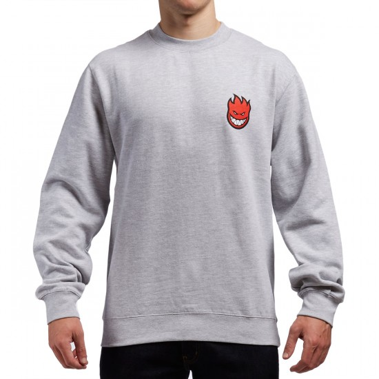 Spitfire Lil Bighead Sweatshirt - Grey Heather
