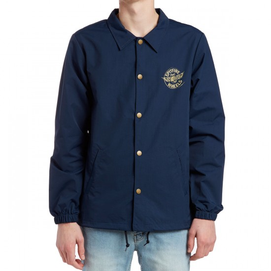 Spitfire Flying Classic Coaches Jacket - Navy