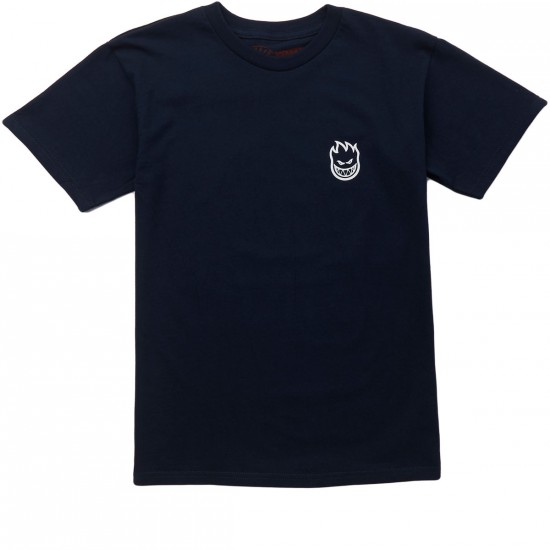 Spitfire Steady Rockin Big Head T-Shirt - Navy