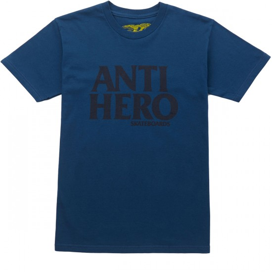 Anti-Hero Blackhero T-Shirt - Harbor Blue
