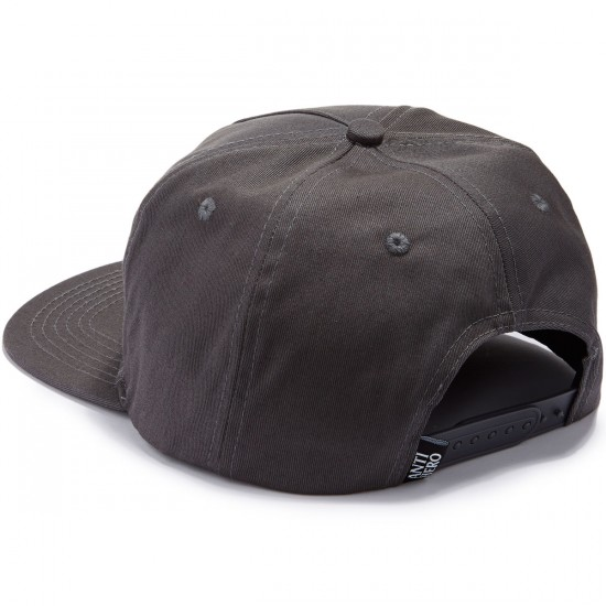 Anti-Hero Stay Ready Patch Snapback Hat - Charcoal