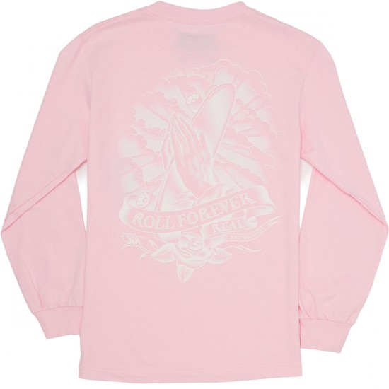 Real Almighty Double Long Sleeve T-Shirt - Pink