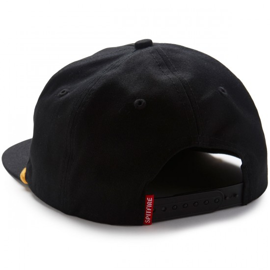 Spitfire Flying Classic Snapback Hat - Black