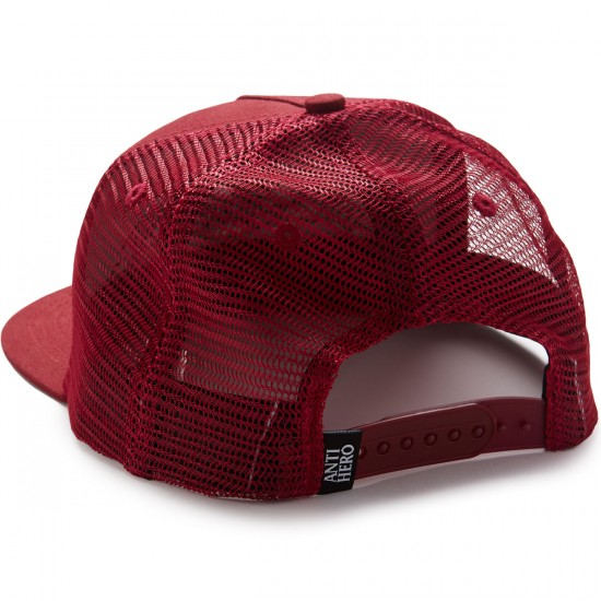 Anti-Hero Eagle EMB Trucker Hat - Burgundy
