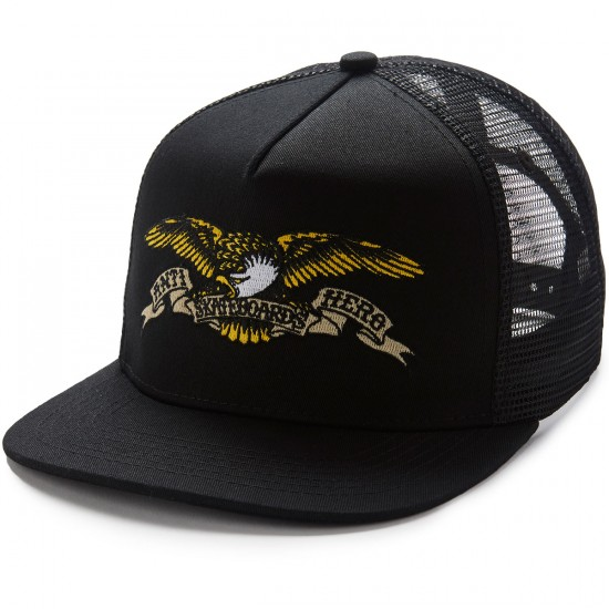 Anti-Hero Eagle EMB Trucker Hat - Black