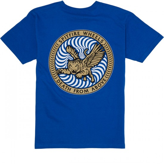 Spitfire Death From Above T-Shirt - Royal