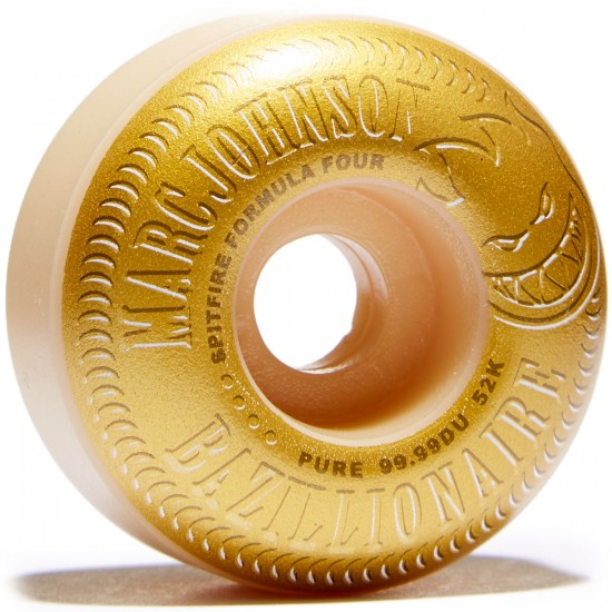 Spitfire F4 99 Johnson Bazillionaire Skateboard Wheel - 52mm