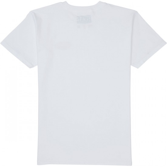Real Stock Oval T-Shirt - White