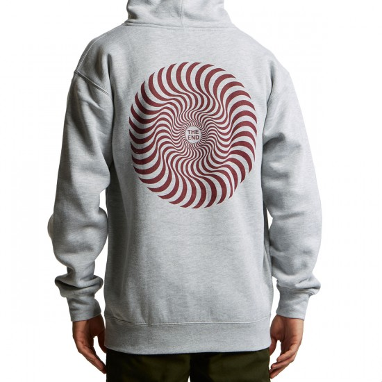 Spitfire Classic Swirl Hoodie - Athletic Heather
