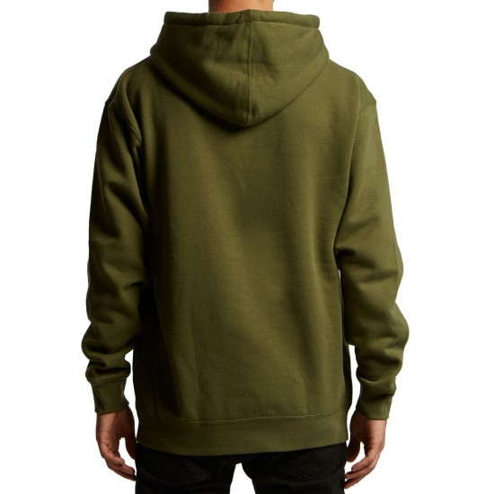 Anti-Hero Stock Eagle Patch Hoodie - Army