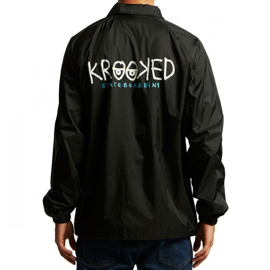 Krooked Krooked Eyes Jacket - Black