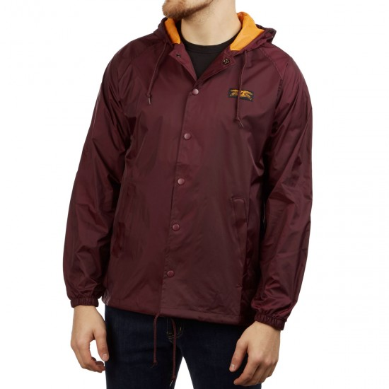 Anti Hero Basic Eagle Jacket   Maroon by Ccs