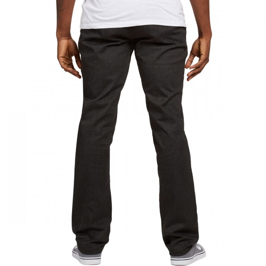 Brixton Reserve Chino Pants - Charcoal Heather - 30 - 32