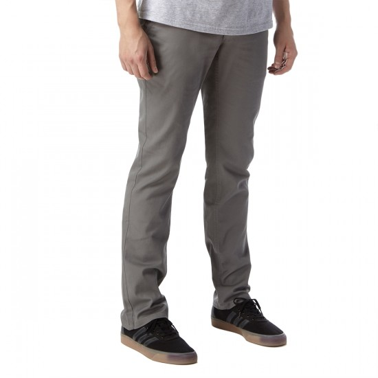 Brixton Reserve Chino Pants - Grey - 30 - 32