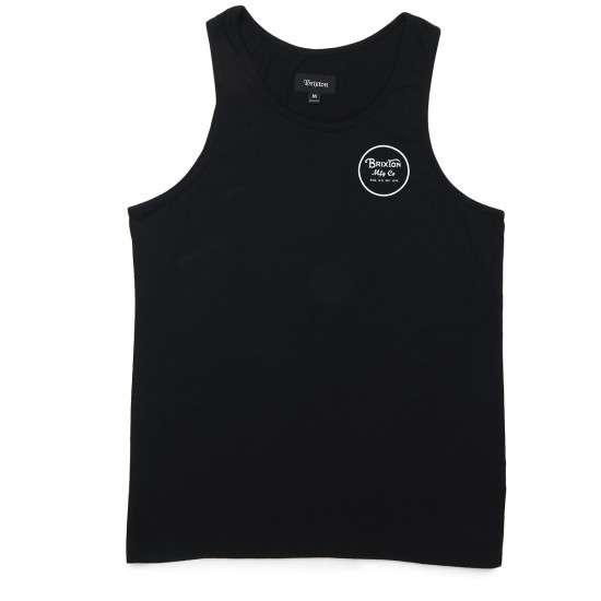 Brixton Wheeler Tank Top - Black