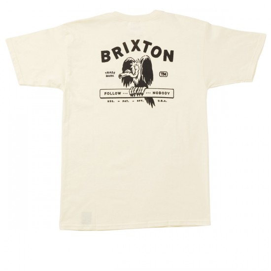 Brixton Loner T-Shirt - Off White