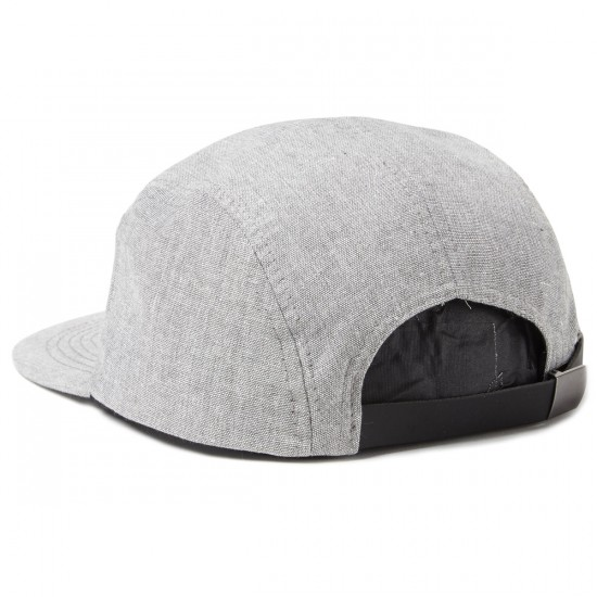 Brixton Hoover 5 Panel Hat - Heather Grey