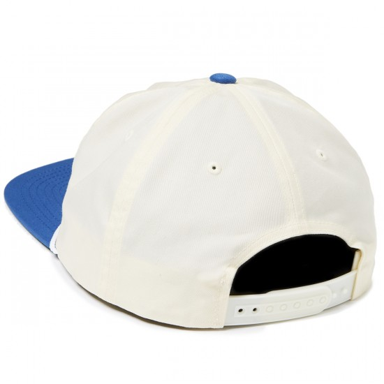 Brixton Soto Snapback Hat - White/Royal