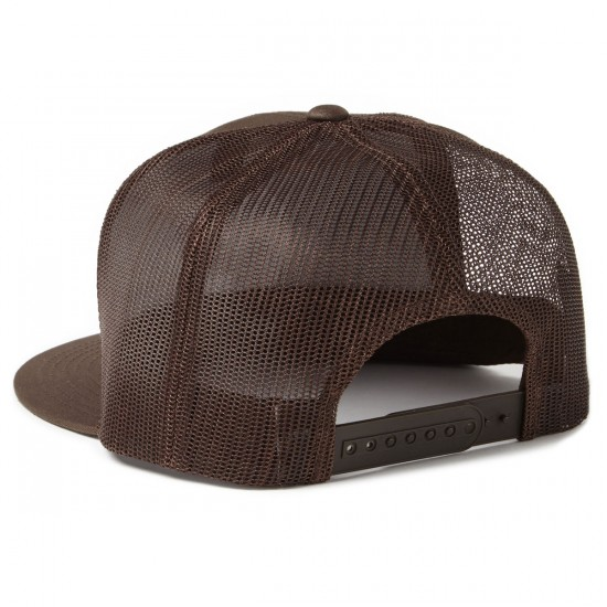 Brixton Wheeler Mesh Hat - Brown