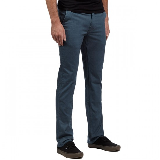 Brixton Reserve Chino Pants - Heather Steel - 30 - 32
