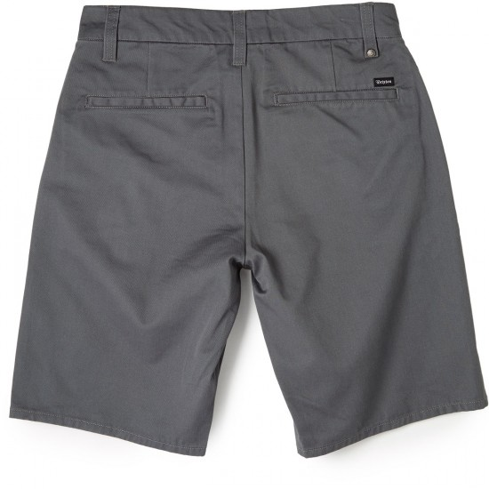 Brixton Carter Shorts - Charcoal