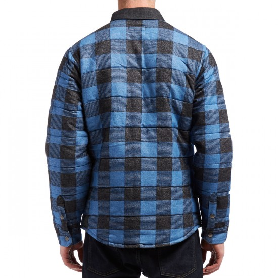 Brixton Cass Jacket - Blue Plaid