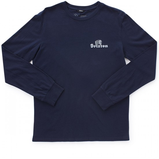Brixton Tanka Long Sleeve T-Shirt - Navy
