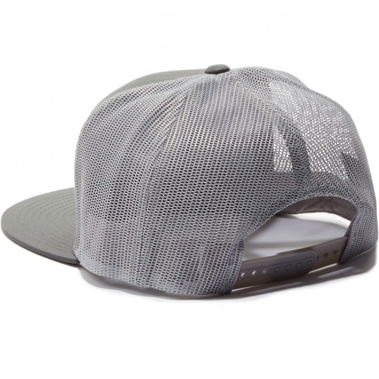 Brixton Wheeler Mesh Hat - Grey/Black