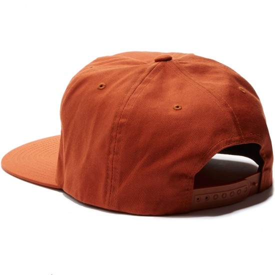 Brixton Jolt HP Snapback Hat - Burnt Orange