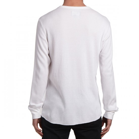 Brixton Mach Long Sleeve Knit Shirt - White