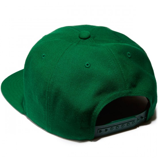 Brixton Oath III Snapback Hat - Hunter Green