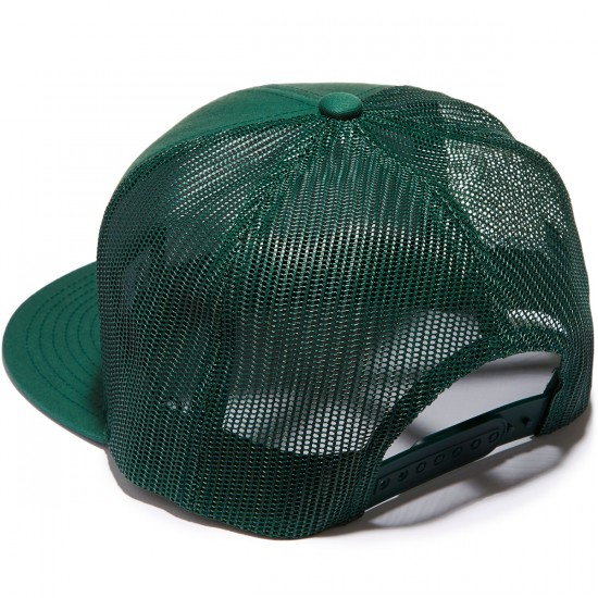 Brixton Wheeler Mesh Hat - Dark Green