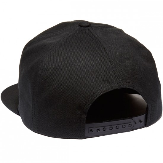 Brixton Pace HP Snapback Hat - Black
