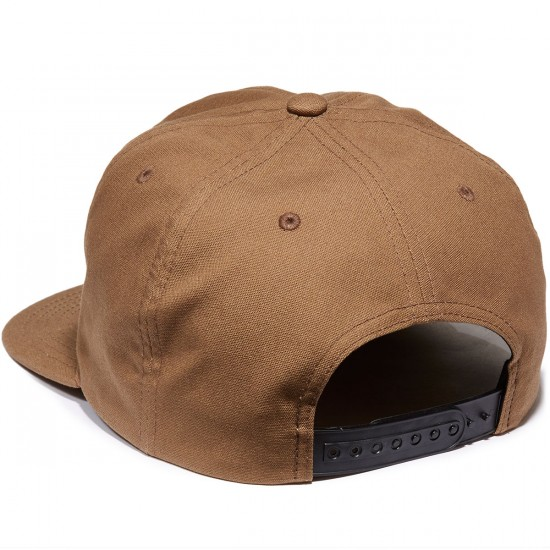 Brixton Legion HP Snapback Hat - Copper