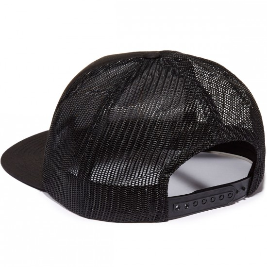 Brixton Grade Mesh Hat - Black/Gold