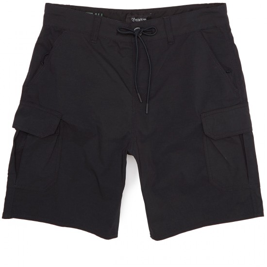 Brixton Transport Cargo Shorts - Black