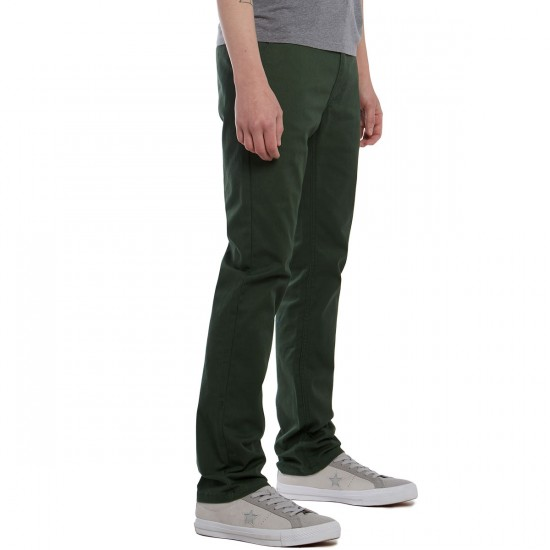 Brixton Reserve Chino Pants - Chive - 30 - 32
