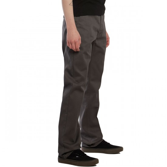 Brixton Fleet Rigid Chino Pants - Charcoal - 30 - 32