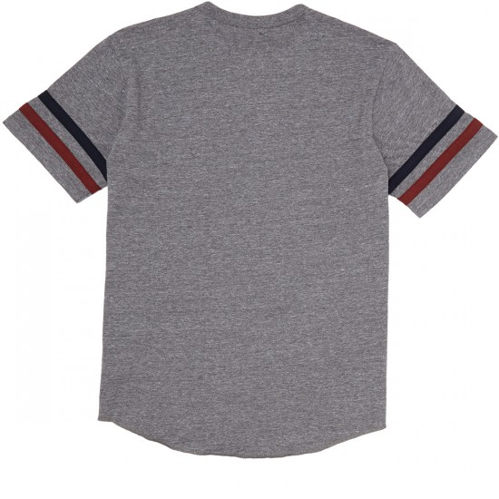 Brixton Fairfield Shirt - Heather Grey